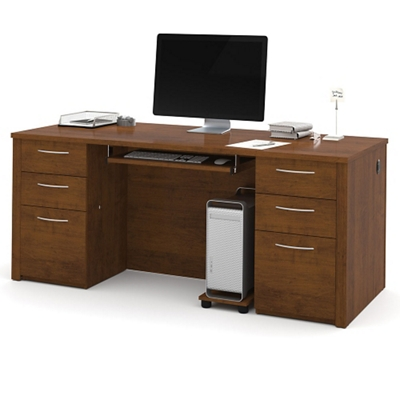 "Double Pedestal Executive Desk - 71""W"