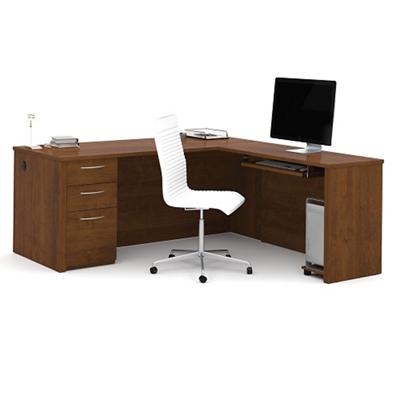 "Reversible 71""W Executive L-Desk"