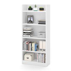 """68""""H Five Shelf Bookcase"""