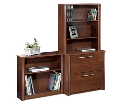 Lateral File and Bookcase