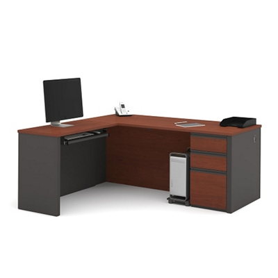 Reversible Contemporary L-Desk
