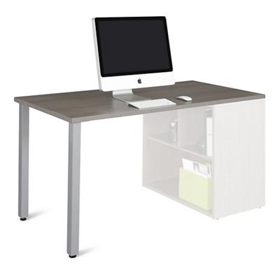 Boardwalk Table Desk Return with Legs