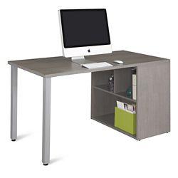 "Boardwalk Compact Desk with Open Storage - 60""W"