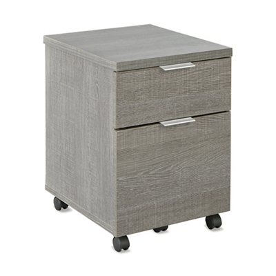 "Boardwalk Two Drawer Mobile Pedestal - 15.81""W"
