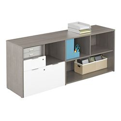 "Boardwalk Credenza with One File Drawer - 71.1""W"