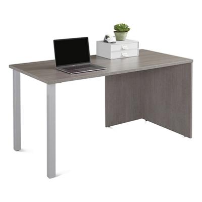 """Boardwalk Table Desk with Metal Legs - 60""""W"""