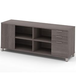 "Three Drawer Storage Credenza - 71""W"