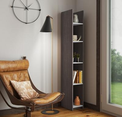 """10""""W 5 Shelf Bookcase"""