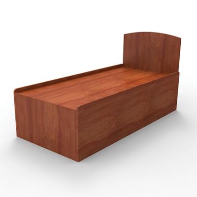 Behavioral Health Platform Bed with Headboard