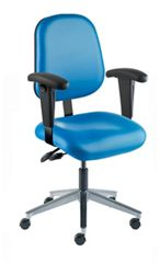 Task Chair with Vacuum-Formed Seat and Back