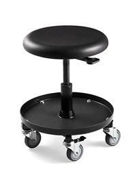 "Height Adjustable Scooter Stool 20-27""H"