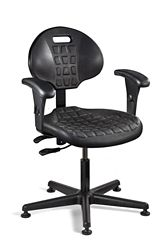 """Polyurethane Chair with Arms -15""""-20""""H"""