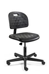 "Armless Polyurethane Chair - 16""-21""H"