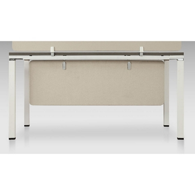 "Element Fabric Modesty Panel for All Single User Desks - 48""W"