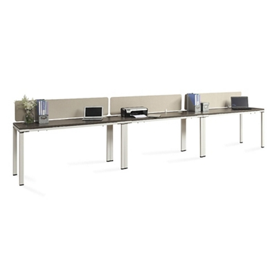 "Element Benched 59""W Desk Set"