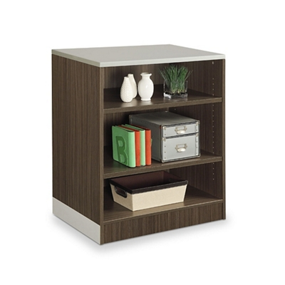 "Esquire 39""H Three Shelf Bookcase"
