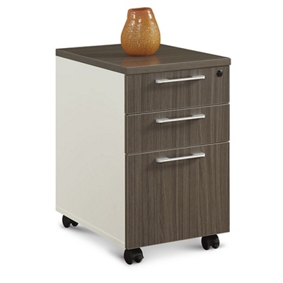 Element Three Drawer Mobile Pedestal
