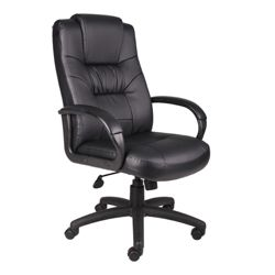 High Back Bonded Leather Managers Chair