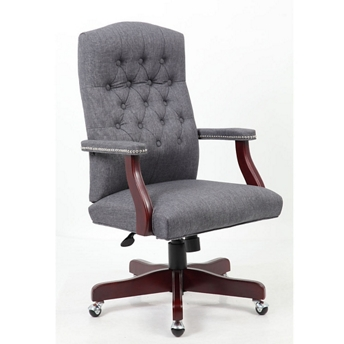 button tufted fabric executive chair 55611 and more lifetime guarantee