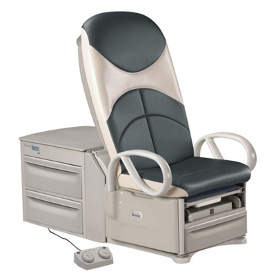 Deluxe Access High-Low Exam Table in Plush Ultraleather