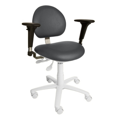 Dental Operator Stool with Armrests
