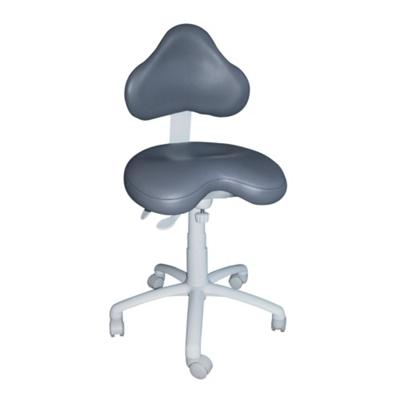 Petite Dental Stool with Large HybriGel Seat