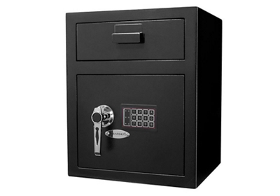 "Large Keypad Depository Safe - 15.33""W x 13.5""D"