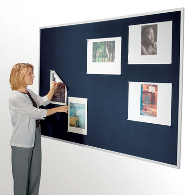 "96""W x 48""H Fabric Tack Board"