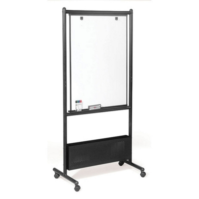 Double Sided Adjustable Height Magnetic Porcelain Dry Erase Easel