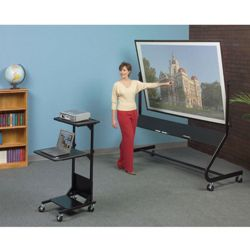 """6"""" W x 4"""" H Reversible Mobile Projection Board"""