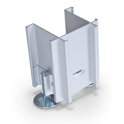 Standard Modular Panels 3-Way 90 Degree Connector Leg