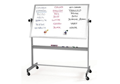Porcelain Reversible White/White Board 5'x4'