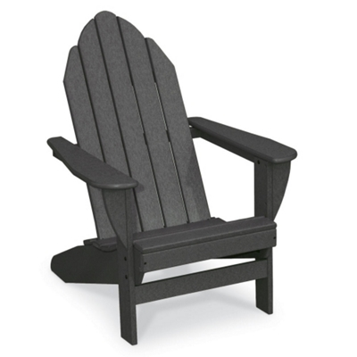 Outdoor Adirondack Chair Seat Height 10 14H   51384 And More Lifetime  Guarantee
