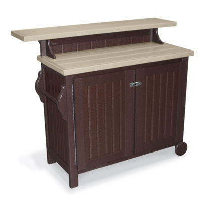 Recycled Portable Outdoor Buffet Table   85528 And More Lifetime Guarantee