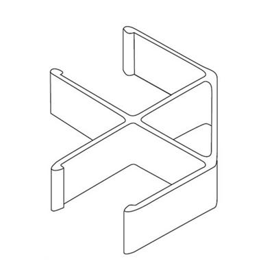 90° Corner Connector