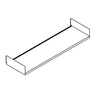"Open Straight Shelf - 48""W"