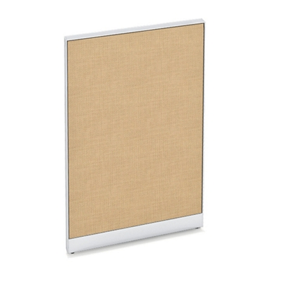 "Tackable Panel with End Trim - 4'W x 4'2""H"