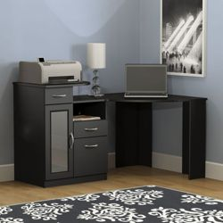Vantage Corner Desk with Storage
