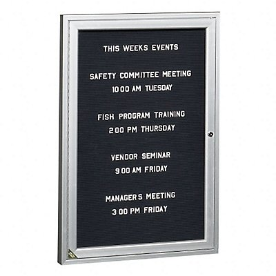 Letter Boards and Directory