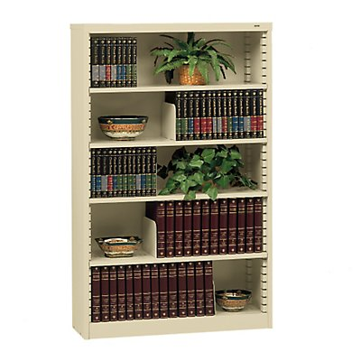 Metal Finish Bookcases