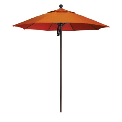 7.5' Umbrella with Aluminum Pole and Pulley Lift