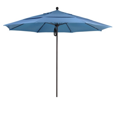 11' Umbrella with Aluminum Pole and Pulley Lift
