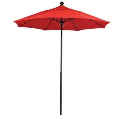 7.5' Umbrella with Fiberglass Pole and Push Lift