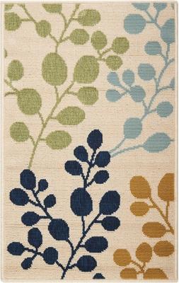 """Leaf Pattern 1'9"""" x 2'9"""""""