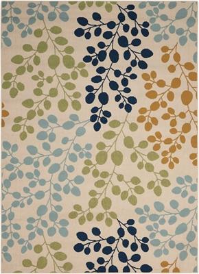 """Leaf Pattern 7'10"""" x 10'6"""""""