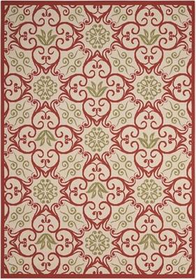 "Geometric Floral 9'3"" x 12'9"""