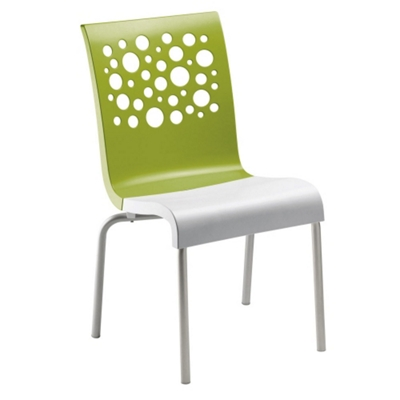 Stacking Chair with Bubble Back