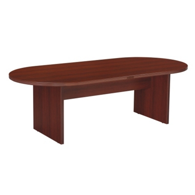 Racetrack Conference Table - 8 Ft