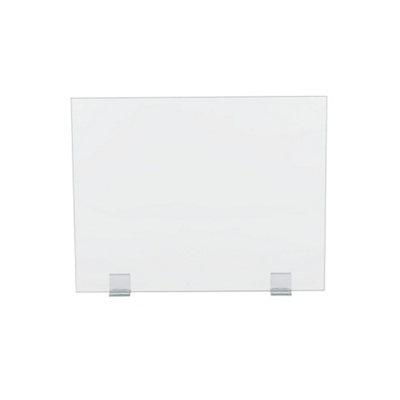 "Universal Clear Acrylic Panel with Bracket Kit - 30""W x 24""H"