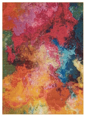 "Colorful Cloud Rug 3'11""x5'11"""